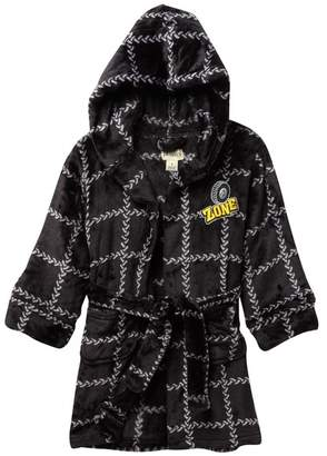 Petit Lem Construction Hooded Robe (Toddler & Little Boys)