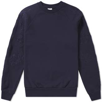 Dries Van Noten Embroidered Sleeve Sweat