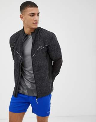 Asos 4505 4505 running jacket with reflective cut & sew panels