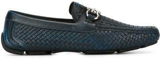 Salvatore Ferragamo Gancini buckle loafers