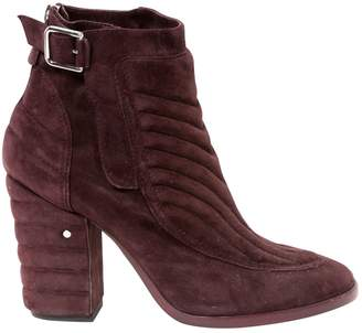 Laurence Dacade Purple Suede Ankle boots