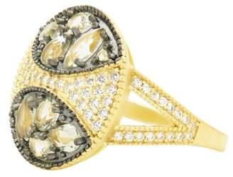 Freida Rothman Rose d'Or Cocktail Ring
