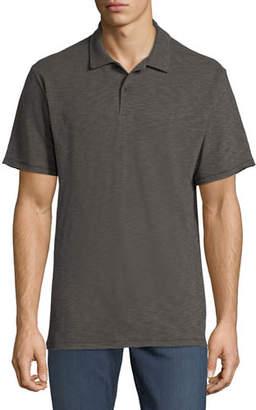 Rag & Bone Men's Owen Stripe Linen/Cotton Polo Shirt