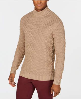 Tasso Elba Men Cable-Knit Turtleneck Sweater