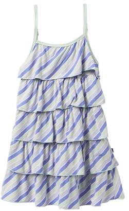 Kickee Pants Tropical Stripe Print Tiered Ruffle Dress (Baby, Toddler, Little Girls, & Big Girls)