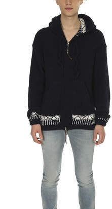 Remi Relief Native Polyester Mole Zip Hoodie