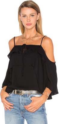 Ella Moss Stella Cold Shoulder Top $158 thestylecure.com