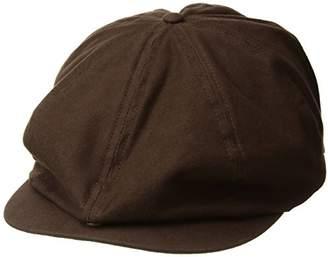 Brixton Men's Brood Adjustable Newsboy SNAP HAT
