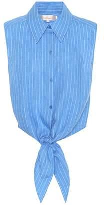 Diane von Furstenberg Sleeveless linen top