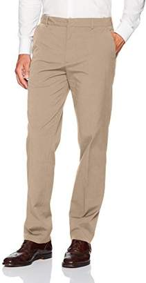 Van Heusen Men's Flex Flat Front Oxford Chino