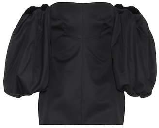 Ellery Countess cotton corset top