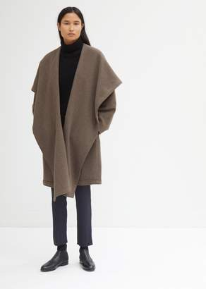 Dusan Dušan Washed Cashmere Hooded Coat
