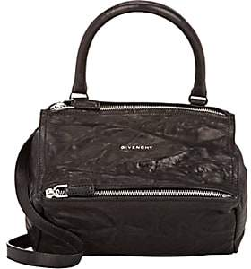 Givenchy Women's Pandora Pepe Small Leather Messenger Bag-Black