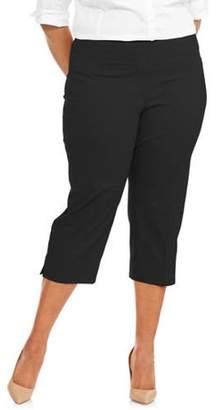 Lifestyle Attitude Women's Plus Capri Pants
