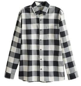 Mango man MANGO MAN Regular-fit check cotton shirt