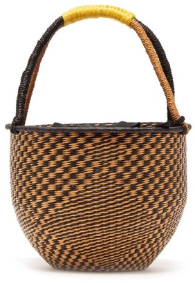 Sensi Studio - Woven Basket Bag - Womens - Black Multi