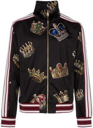 Dolce & Gabbana Crowns track jacket