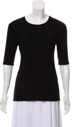 Altuzarra Short Sleeve Knit Top