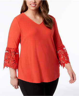 7b3c0251ffe Alfani Yellow Plus Size Tops - ShopStyle Canada