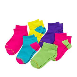 Gold Toe 6-pk. Neon Quarter Socks