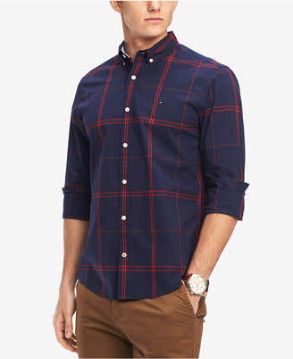 Tommy Hilfiger Men Ben Plaid Classic Fit Shirt
