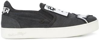 Haculla Thrash Metal skate shoes