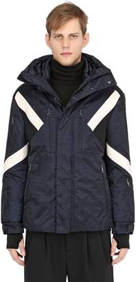Neil Barrett Modernist Inserts Printed Ski Jacket