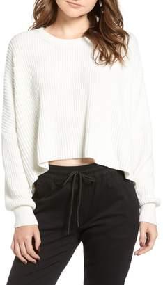 LIRA Sahara Crop Sweater