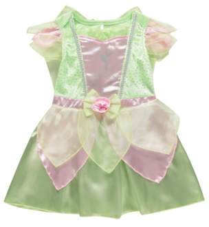 Bell George Disney Tinkerbell Baby Fancy Dress Costume