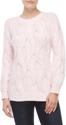 Vince Camuto Petite Chunky Cable Sweater