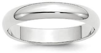 Bloomingdale's Men's 4mm Half Round Band Ring in 14K White Gold - 100% Exclusive