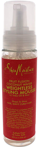 Fruit Fusion Coconut Water Weightless Styling Mousse