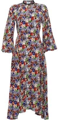 Prada Primrose print marocain dress