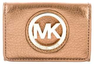 Michael Kors Leather Mini Wallet