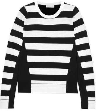 Sonia Rykiel Striped Wool Sweater - Black