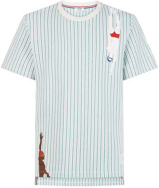 Thom Browne Swimmer Striped T-Shirt