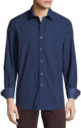 Robert Graham Men's Adair Woven Paisley Sport Shirt