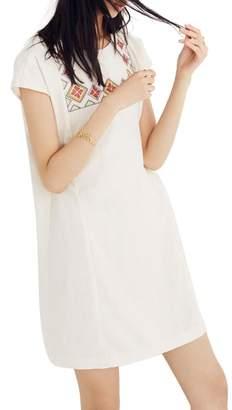 Madewell Embroidered Pinon Dress