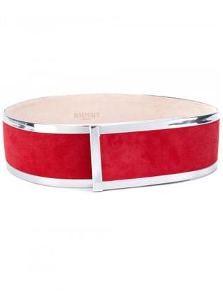 Balmain structured waist belt $945 thestylecure.com