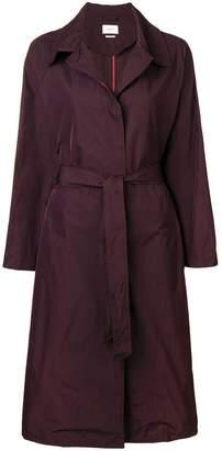 Etoile Isabel Marant belted single-breasted coat
