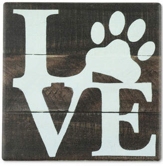 Thirstystone Love Pets Blue Coaster