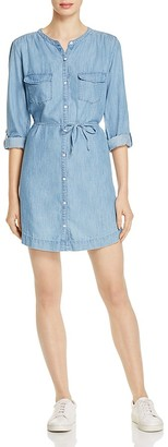 Soft Joie Milli Chambray Shirt Dress $178 thestylecure.com