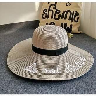 ONLINE Beach Hats For Women Straw Floppy Hat For Women Wide Brim