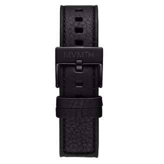 MVMT Mens Chrono 40mm Series20mm Black Leather