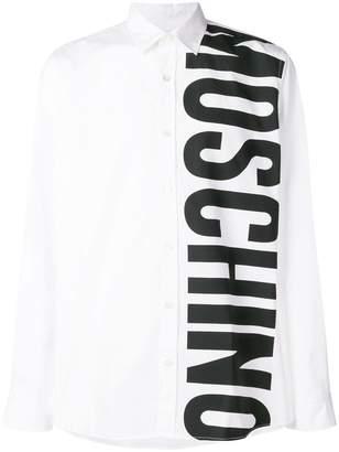 Moschino brand printed shirt
