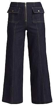 Cinq à Sept Women's Azure Front Denim Pants