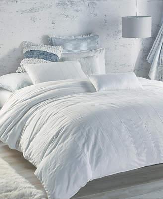 DKNY Pure Eyelet Voile King Duvet Cover Bedding