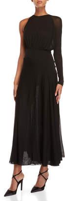 Antonio Berardi Black One-Sleeve Gown