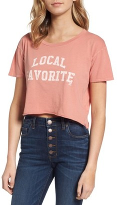 Women's Billabong Local Favorite Graphic Crop Tee $24.95 thestylecure.com
