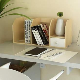Rebrilliant Desk Storage Shelf with Bin